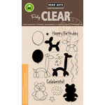 Hero Arts - Birthday Collection - Clear Acrylic Stamps - Balloon Animal Birthday