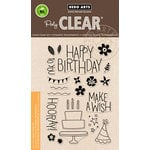 Hero Arts - Birthday Collection - Clear Acrylic Stamps - Make A Wish Birthday