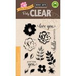Hero Arts - Color Layering Collection - Clear Acrylic Stamps - For You Flowers