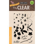 Hero Arts - Color Layering Collection - Clear Acrylic Stamps - Orchid In A Pot
