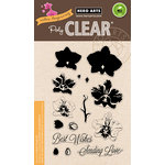 Hero Arts - Color Layering Collection - Clear Acrylic Stamps - Large Orchid