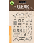 Hero Arts - Trend Collection - Clear Acrylic Stamps - Home Sweet Home