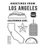 Hero Arts - Destination Collection - Destination - Clear Acrylic Stamps - Los Angeles