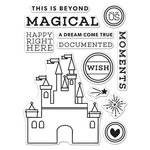 Hero Arts - Destination Collection - Destination - Clear Acrylic Stamps - Magical