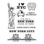 Hero Arts - Destination Collection - Destination - Clear Acrylic Stamps - New York