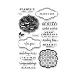 Hero Arts - Christmas - Clear Acrylic Stamps - Holiday Messages and Tags