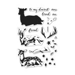 Hero Arts - Clear Acrylic Stamps - Color Layering Deer