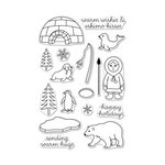 Hero Arts - Christmas - Clear Acrylic Stamps - Warm Hugs