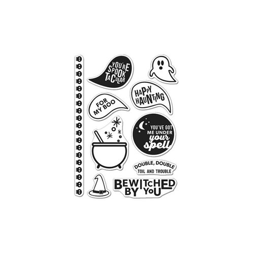 Hero Arts - Kelly Purkey Collection - Halloween - Clear Acrylic Stamp - Kelly's Spooktacular