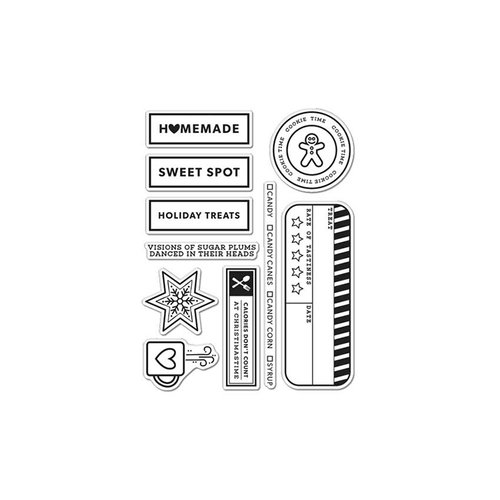 Hero Arts - Kelly Purkey Collection - Clear Photopolymer Stamp - Kelly's Holiday Treats