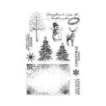 Hero Arts - Clear Acrylic Stamps - Vintage Christmas Wishes