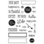 Hero Arts - Clear Acrylic Stamps - Fun Day Planner