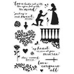 Hero Arts - Clear Acrylic Stamps - Romeo and Juliet