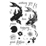 Hero Arts - Clear Acrylic Stamps - Color Layering Koi