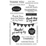 Hero Arts - Everyday Collection - Clear Acrylic Stamps - Thank You Messages