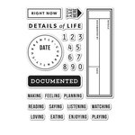 Hero Arts - Kelly Purkey Collection - Clear Acrylic Stamps - Details of Life