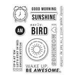 Hero Arts - Kelly Purkey Collection - Clear Acrylic Stamps - Good Morning