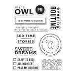 Hero Arts - Kelly Purkey Collection - Clear Acrylic Stamps - Good Night