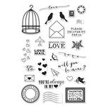 Hero Arts - Clear Acrylic Stamps - Love Notes