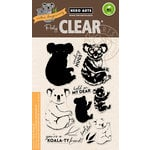 Hero Arts - Clear Acrylic Stamps - Color Layering Koala