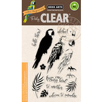 Hero Arts - Clear Acrylic Stamps - Color Layering Parrot