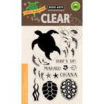 Hero Arts - Clear Photopolymer Stamps - Color Layering Sea Turtle