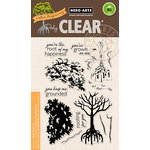 Hero Arts - Clear Acrylic Stamps - Color Layering Mangrove