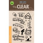 Hero Arts - Clear Acrylic Stamps - Killer Messages