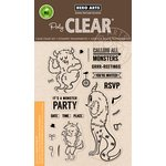 Hero Arts - Clear Acrylic Stamps - Monster Greetings
