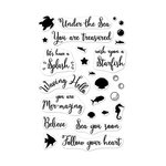 Hero Arts - Clear Acrylic Stamps - Mer-mazing Messages