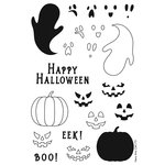 Hero Arts - Clear Photopolymer Stamps - Mix and Match Pumpkins
