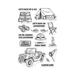 Hero Arts - Clear Acrylic Stamps - Go On A Safari