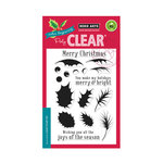 Hero Arts - Clear Acrylic Stamps - Color Layering Holly