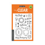 Hero Arts - Clear Photopolymer Stamps - Thanksgiving Table