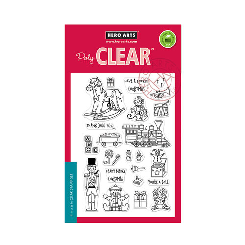 Hero Arts - Clear Acrylic Stamps - Christmas Toys