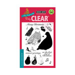 Hero Arts - Christmas - Clear Acrylic Stamps - Color Layering Partridge