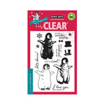 Hero Arts - Clear Acrylic Stamps - Color Layering Baby Penguin