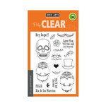 Hero Arts - Clear Acrylic Stamps - Sugar Skulls