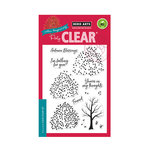 Hero Arts - Clear Acrylic Stamps - Color Layering Autumn Trees
