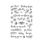 Hero Arts - Clear Acrylic Stamps - Summer Garden