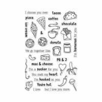 Hero Arts - Clear Photopolymer Stamps - We Go Together