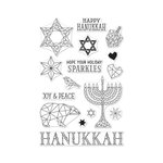 Hero Arts - Clear Acrylic Stamps - Happy Hanukkah