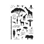 Hero Arts - Clear Acrylic Stamps - Safari Wild About You