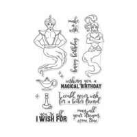 Hero Arts - Clear Photopolymer Stamps - Make A Wish