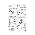 Hero Arts - Clear Acrylic Stamps - Layered Topiary