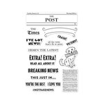 Hero Arts - Clear Photopolymer Stamps - Headline Messages