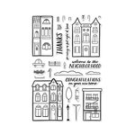Hero Arts - Clear Acrylic Stamps - Welcome Neighbor