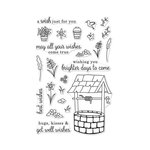 Hero Arts - Clear Acrylic Stamps - Wishing Well