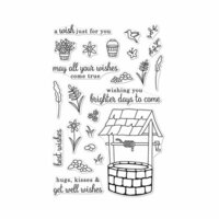 Hero Arts - Clear Photopolymer Stamps - Wishing Well