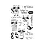 Hero Arts - Clear Acrylic Stamps - Love Bandit